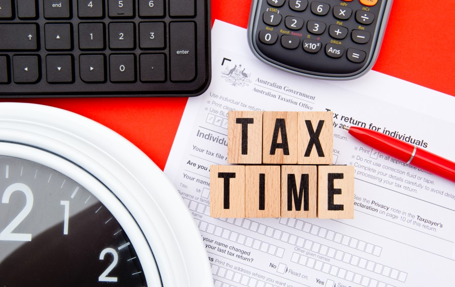 getting ready tax time